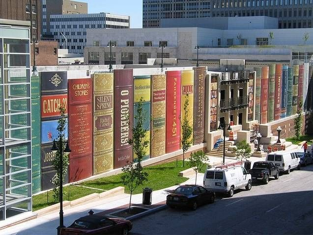 America's most beautiful public Library : Kansas City